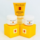 White Beauty Cream Set ( France ) 3pc